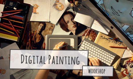 JMOTION SCHOOL Workshop Digital Painting