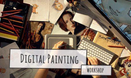 JMOTION SCHOOL Workshop Digital Painting
