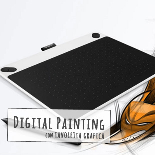jschool corso digital painting tavoletta grafica