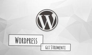 JMOTION SCHOOL WordPress e gli strumenti