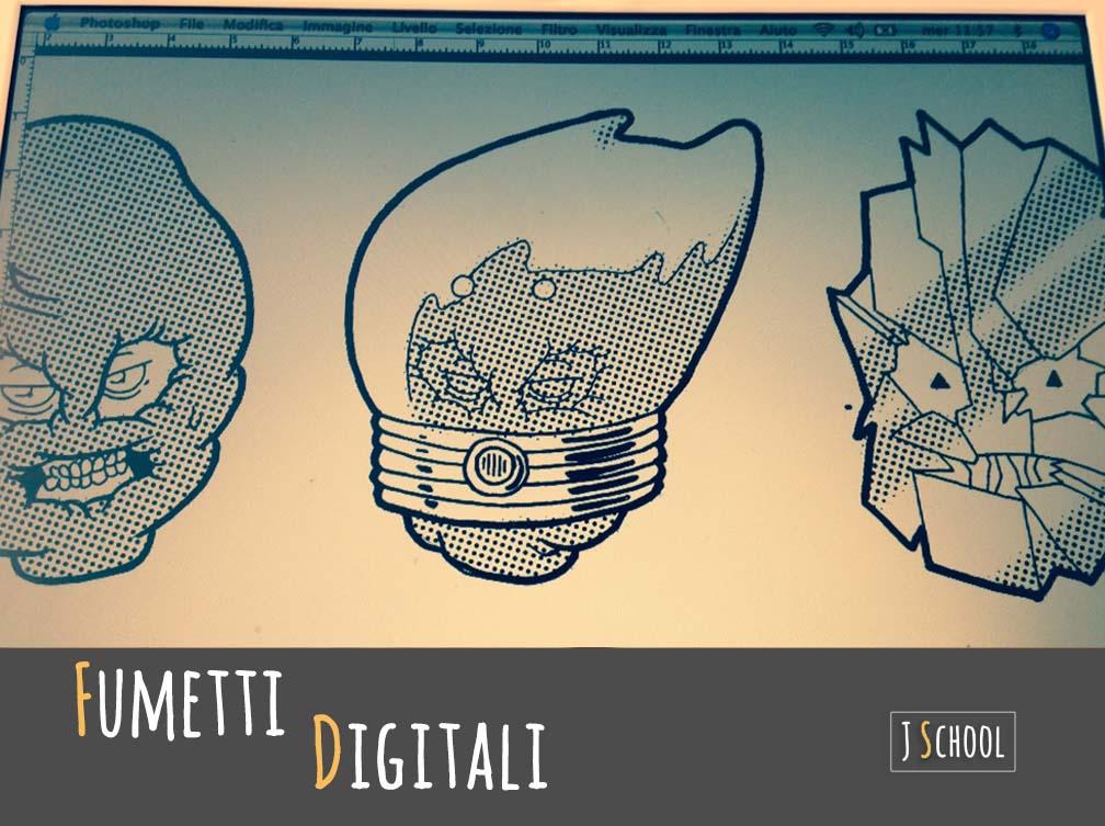 JmotionSchool Corso Digital Painting Fumetti Digitali Come Pubblicarli