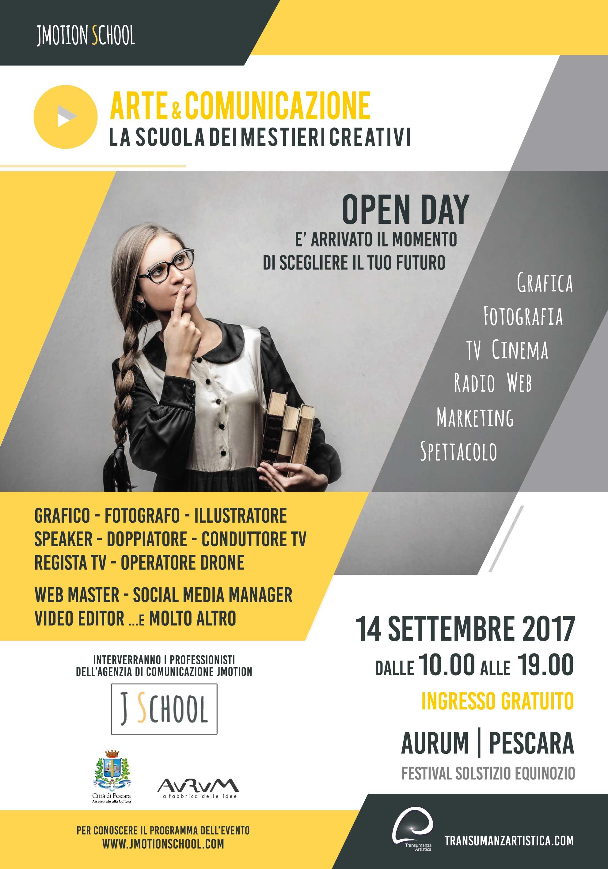 jmotionschool open day aurumpescara 14 settembre 2017 festival solstizio equinozio Assessorato alla Cultura