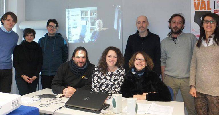 LIDIA DI BLASIO presentatrice tv Corso di Format TV con la sceneggiatrice VALENTINA CAPECCI