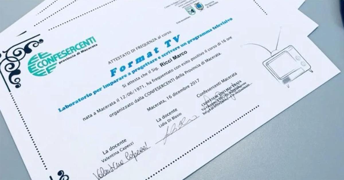 LIDIA DI BLASIO presentatrice tv Corso di Format TV