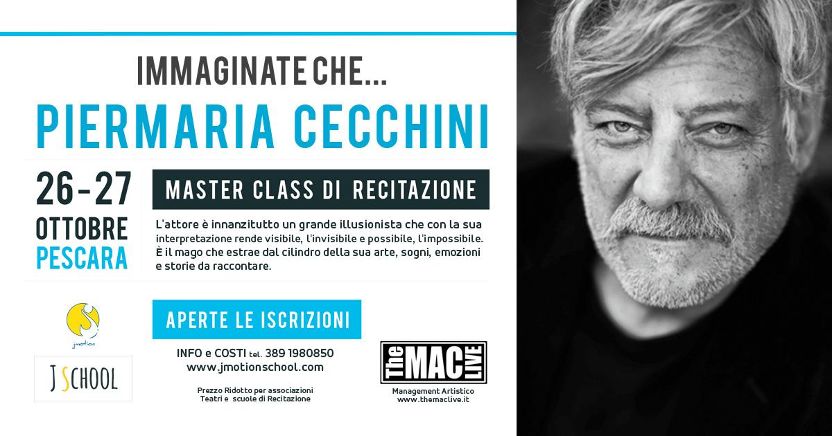 Master Class Recitazione Piermaria Cecchini