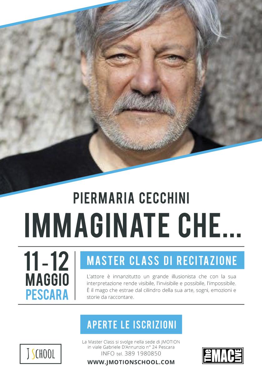 Master Class Recitazione con Piermaria Cecchini